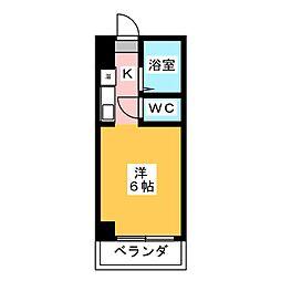 ドール津賀田[2階]の間取り