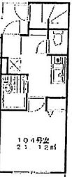 OYO LIFE #1506 ホームズ自由が丘 1階1Kの間取り