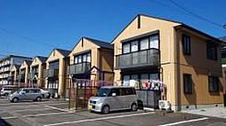 栃木県宇都宮市陽東8丁目の賃貸アパートの外観