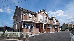 埼玉県比企郡嵐山町大字志賀の賃貸アパートの外観