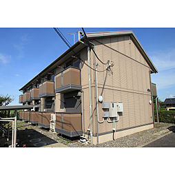 JR常磐線 土浦駅 バス20分 木田余下車 徒歩5分の賃貸アパート