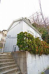 神奈川県鎌倉市岡本1丁目の賃貸アパートの外観
