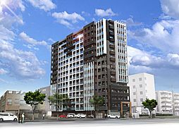 THE SQUARE Platinam Residence[8階]の外観