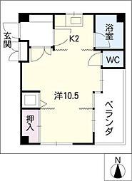 メゾンレーヴ[2階]の間取り