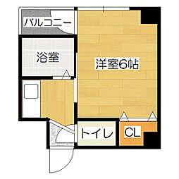 エイムタカシマ[3階]の間取り