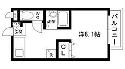 エトワール夙川[101号室]の間取り