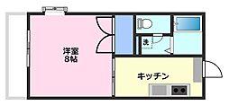 メープルタウン[2階]の間取り
