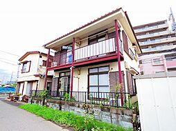 東京都東久留米市本町4丁目の賃貸アパートの外観