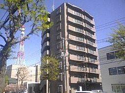 北海道札幌市中央区北六条西15丁目の賃貸マンションの外観