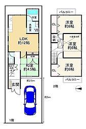 中書島駅 1,980万円