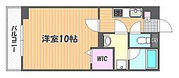 Friend Court 岡山医大東[8階]の間取り