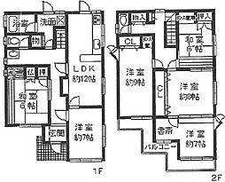 [一戸建] 兵庫県宝塚市雲雀丘3丁目 の賃貸【/】の間取り