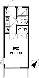 辻堂ニューエスタ21[101号室]の間取り