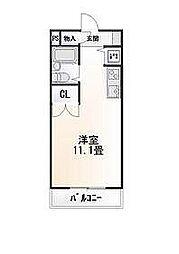 静岡県三島市寿町の賃貸マンションの間取り