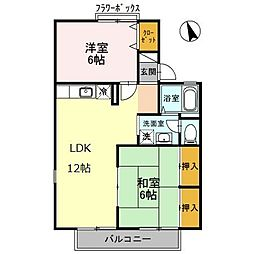 プレステージ21 B棟[2階]の間取り