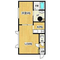 FPマンション北10条[103号室]の間取り
