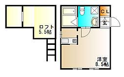 Ma Maison[1階]の間取り