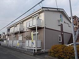 愛知県北名古屋市六ツ師道毛の賃貸アパートの外観