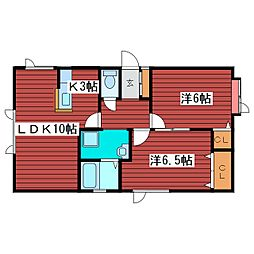 [タウンハウス] 北海道札幌市豊平区月寒東二条1丁目 の賃貸【/】の間取り