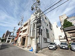 愛知県名古屋市中区門前町の賃貸アパートの外観