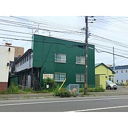 北海道室蘭市東町2丁目の賃貸アパートの外観