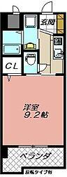 セレスタイト黒崎[905号室]の間取り