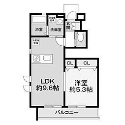 [テラスハウス] 神奈川県川崎市麻生区王禅寺西1丁目 の賃貸【/】の間取り