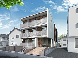 埼玉県さいたま市北区櫛引町の賃貸マンションの外観
