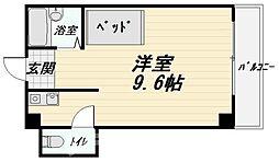 大阪府大阪市天王寺区大道5丁目の賃貸マンションの間取り