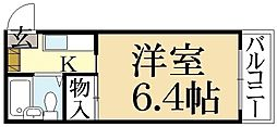 ハイツ葵[1階]の間取り