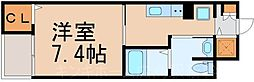 広島県広島市東区戸坂中町の賃貸マンションの間取り