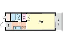 神奈川県座間市相模が丘3の賃貸マンションの間取り