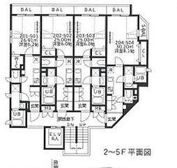 豊玉北YKマンション[2階]の間取り