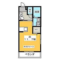 M.Flat−草薙 (T)[1階]の間取り