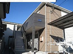 埼玉県川口市西青木の賃貸アパートの外観