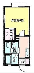 レアルコートIII[1階]の間取り