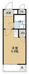 煉瓦館32[302号室号室]の間取り