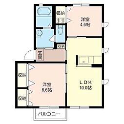 S377[1階]の間取り