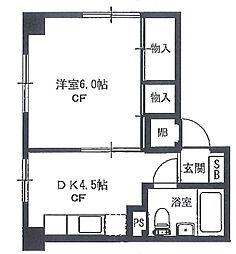 第二音居ビル[4階]の間取り