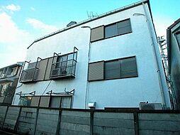 東京都調布市菊野台1丁目の賃貸アパートの外観