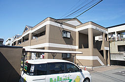 福岡県糟屋郡志免町南里7の賃貸アパートの外観