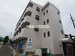 神奈川県伊勢原市板戸の賃貸マンションの外観