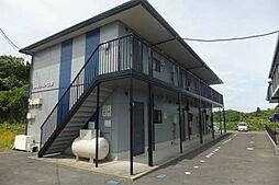 山口県宇部市大字西岐波の賃貸アパートの外観