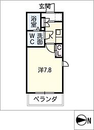 SOLEIL神宮[2階]の間取り