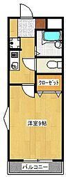 ビアンレジデンス[3階]の間取り