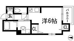 TNGテンジン[4階]の間取り