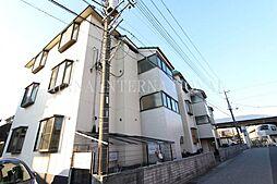 埼玉県吉川市木売2丁目の賃貸マンションの外観