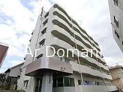 千葉県松戸市古ケ崎の賃貸マンションの外観