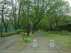 近隣の尾根緑道
