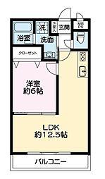 USHIO−05[103号室]の間取り